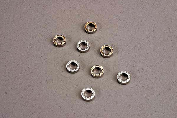 Ball bearings (5x8x2.5mm) (8) (for wheels only), TRX4606-1