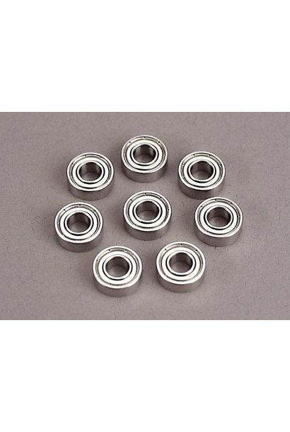 Ball bearings (5x11x4mm) (8), TRX4607