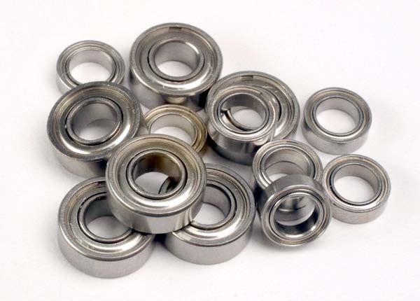 Ball Bearings (5x11x4mm) (6)/ 5x8x2.5mm (8), TRX4608-1