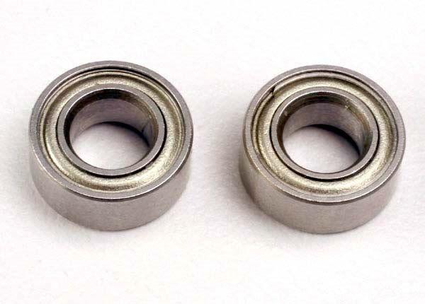 Ball bearings (5x10x4mm) (2), TRX4609-1