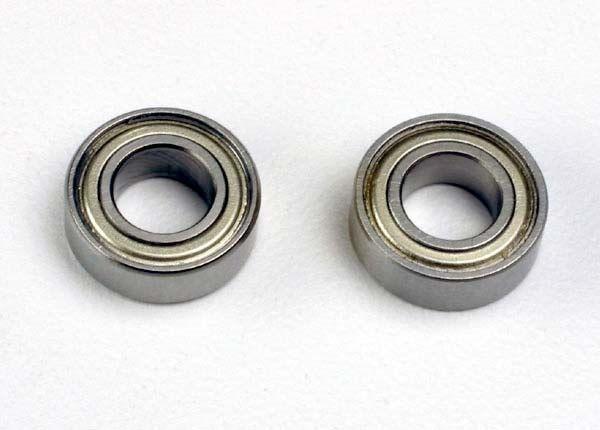 Ball bearings (6x12x4mm) (2), TRX4614-1