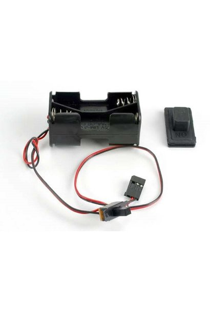 Battery holder with on/off switch/ rubber on/off switch cove, TRX1523