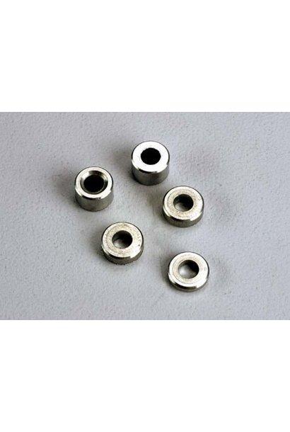 Aluminum spacers: 3x6x1.5mm (2)/ 3x6x2.5mm (1)/ 3x6x3.8mm (2, TRX2539