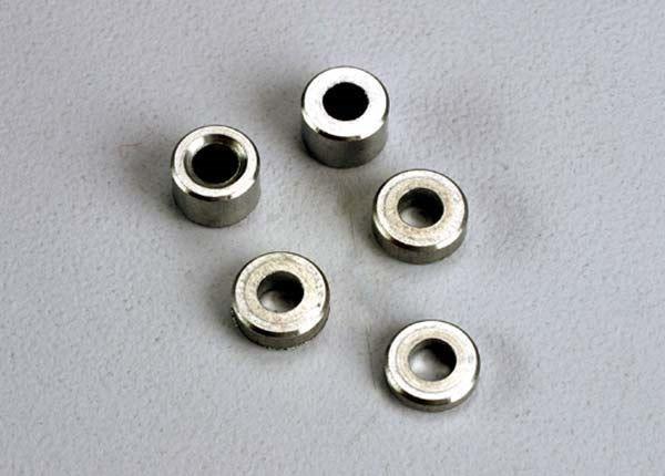 Aluminum spacers: 3x6x1.5mm (2)/ 3x6x2.5mm (1)/ 3x6x3.8mm (2, TRX2539-1