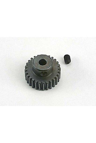 Gear, pinion (28-tooth) (48-pitch)/ set screw, TRX4728