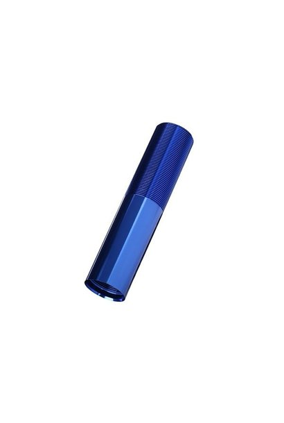 Body, GTX shock (aluminum, blue-anodized) (1), TRX7765