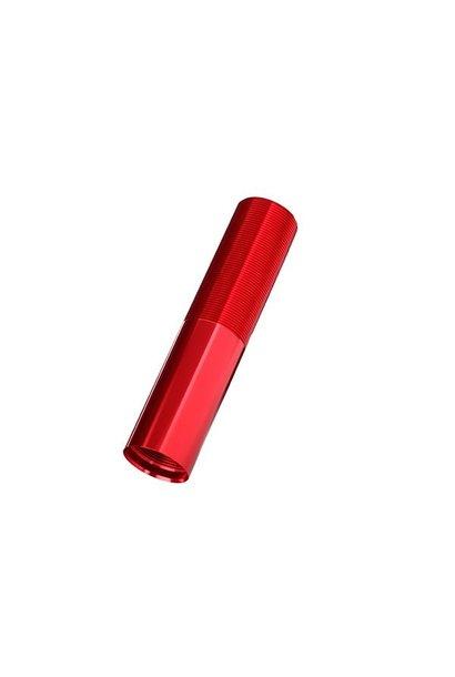 Body, GTX shock (aluminum, Red-anodized) (1), TRX7765R