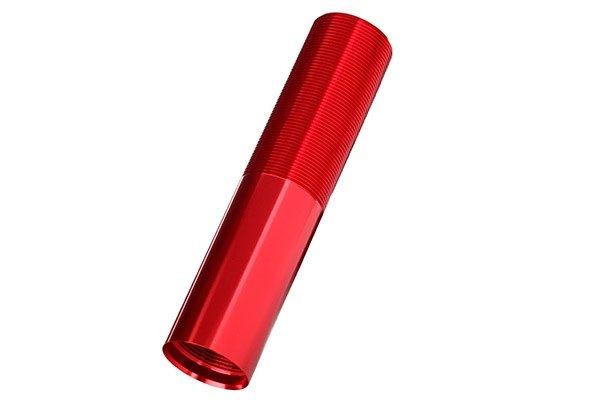 Body, GTX shock (aluminum, Red-anodized) (1), TRX7765R-1