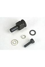 Traxxas Adapter nut, clutch/ 3x10mm cap screw/washer/ split washer (, TRX4844