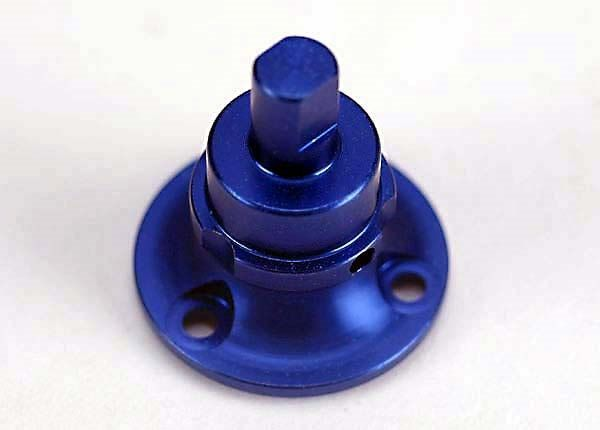 Blue-anodized, aluminum differential output shaft (non-adjus, TRX4846-1