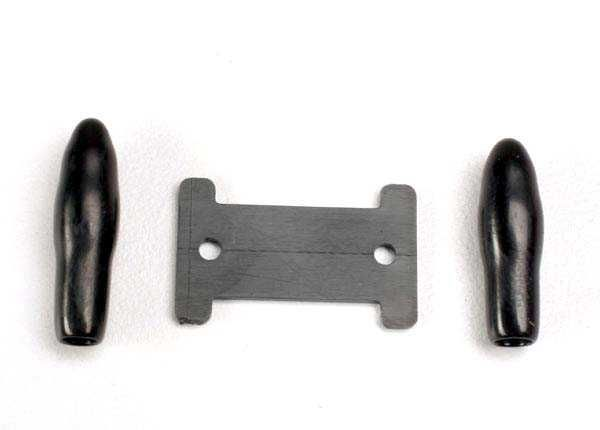 Antenna caps, vinyl (2)/ antenna spool, TRX1926-1