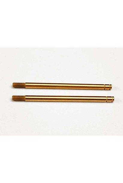 Shock shafts, hardened steel, titanium nitride coated (xx-lo, TRX2656T