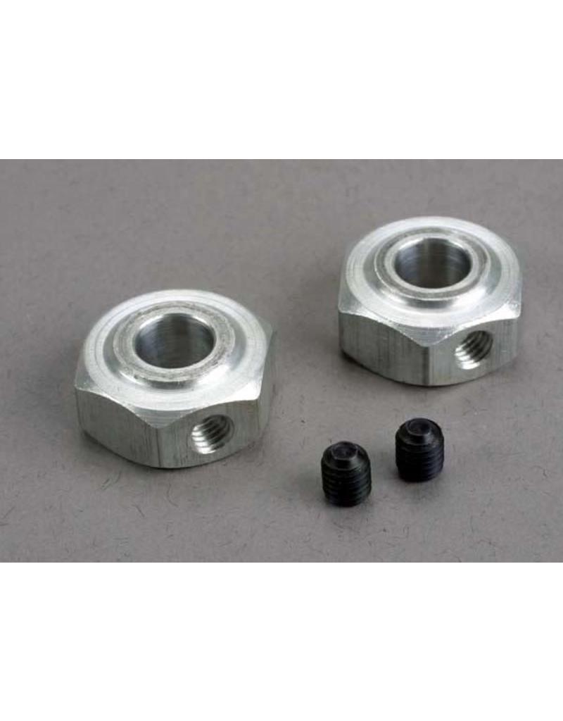 Traxxas Aluminum hex wheel hubs (2)/ 5x6 GS (2), TRX6046