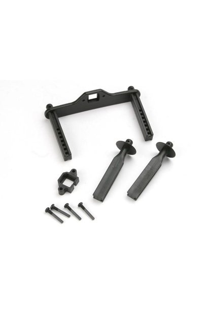 Body mount posts, front (2)/ body mount, rear/ body mount sc, TRX4914R