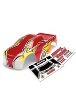Traxxas Body, T-Maxx (USHRA Special Edition) (Red)/decal sheet (2)