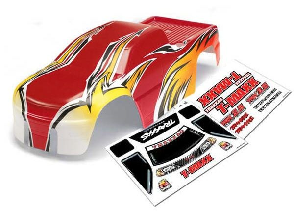 Body, T-Maxx (USHRA Special Edition) (Red)/decal sheet (2)-1