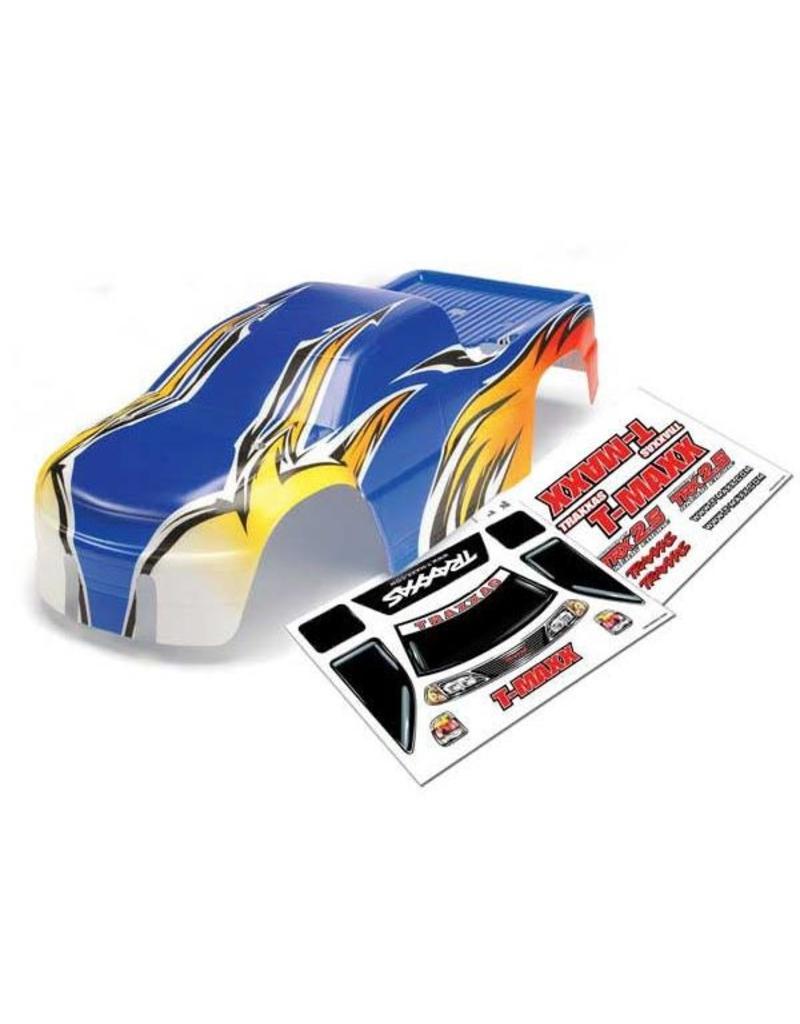 Traxxas Body, T-Maxx (USHRA Special Edition) (Blue)/decal sheet (2)