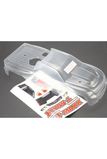 Body, T-Maxx (long wheelbase) (clear, requires painting)/ wi, TRX4921