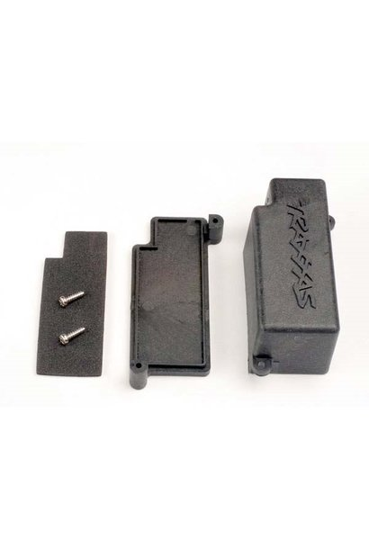 Box, battery/ adhesive foam chassis pad, TRX4925