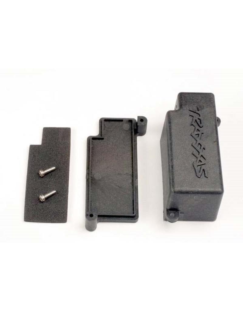 Traxxas Box, battery/ adhesive foam chassis pad, TRX4925