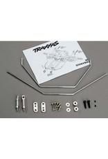 Traxxas Anti-sway bars (front & rear) w/ hardware, TRX6078