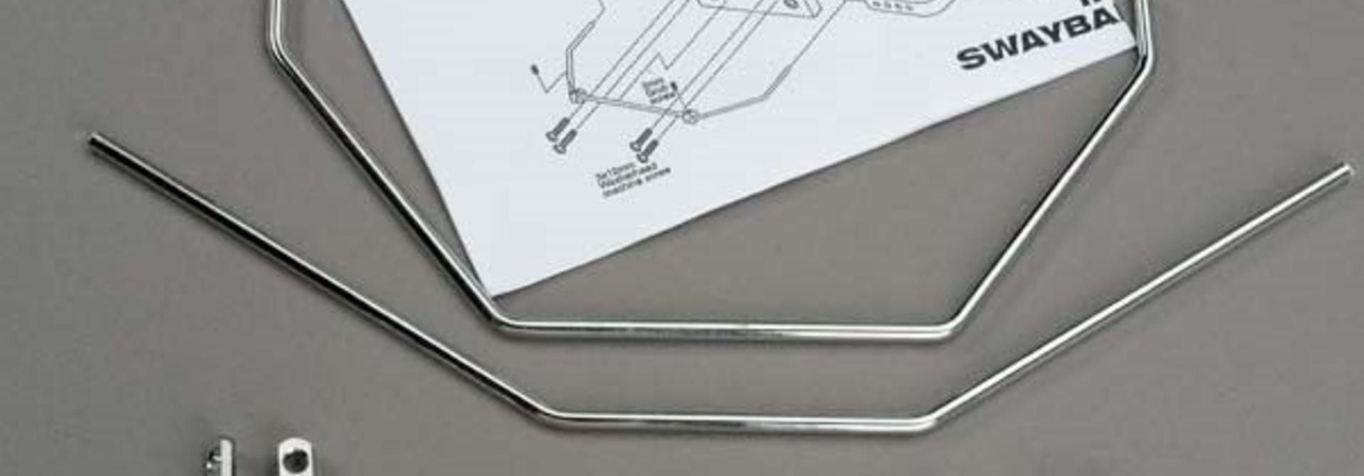 Anti-sway bars (front & rear) w/ hardware, TRX6078
