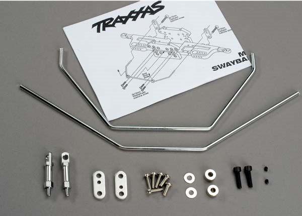 Anti-sway bars (front & rear) w/ hardware, TRX6078-1