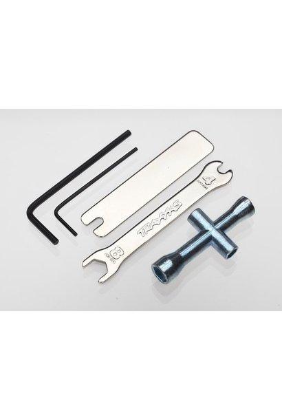 Tool Set (1.5mm &2.5mm allens/ 4-way lug, 8mm &4mm wrench &, TRX2748X