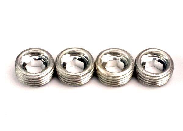 Aluminum caps, pivot ball (4), TRX4934-1