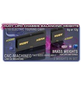 Hudy Hudy Lipo Chassis Balancing Weights 12G - Low Cg (2), H293090