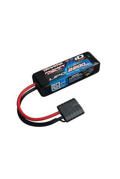 Power Cell LiPo 2200mAh 7.4V 2S 25C , all 1/16 models ID, TRX2820X