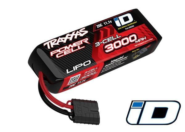 3000mAh 11.1v 3-Cell 20C LiPo Battery ATON!-1