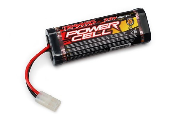 Battery, Series 1 Power Cell 1800mAh (NiMH, 6-C flat, 7.2V,, TRX2919-1