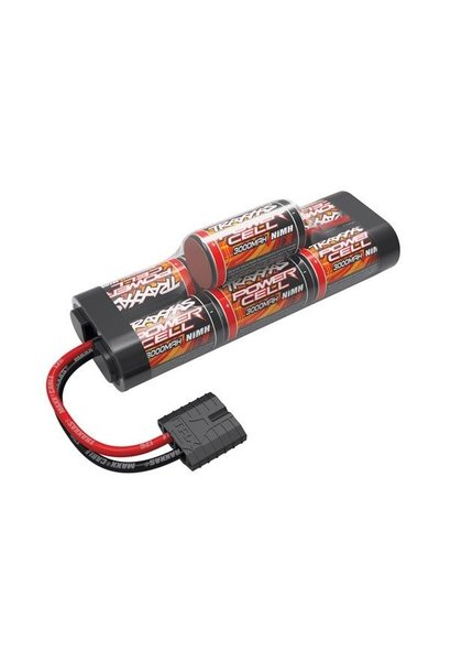 Battery, Power Cell, 3000mAh (NiMH, 7-C hump, 8.4V) ID, TRX2926X