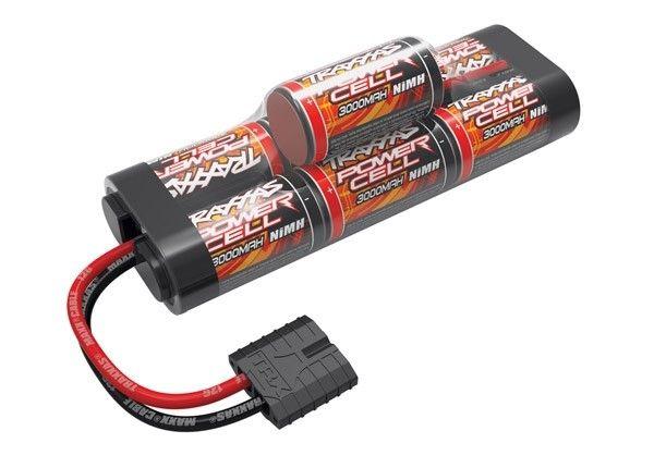 Battery, Power Cell, 3000mAh (NiMH, 7-C hump, 8.4V) ID, TRX2926X-1