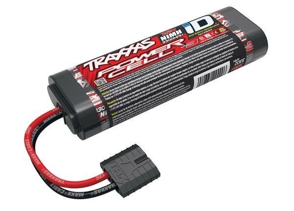 Battery, Series 3 Power Cell, 3300Mah (Nimh, 6-C Flat, 7.2V), TRX2942X-1