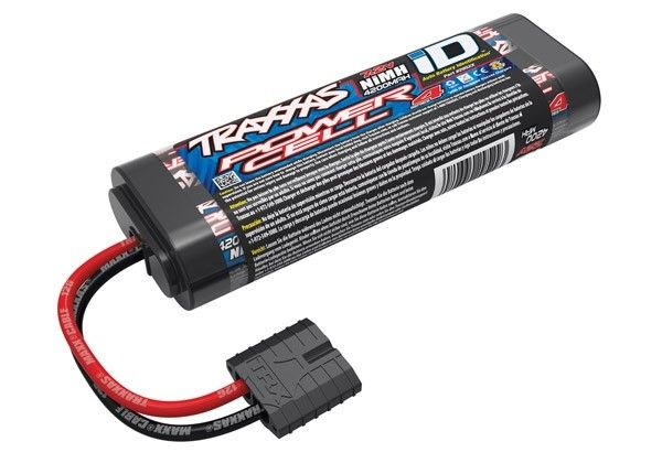 Battery, Series 4 Power Cell (NiMH, 6-C flat, 7.2V), TRX2952X-1
