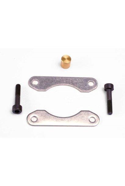 Brake pads (2)/ brake piston/ 3x15mm cap hex screws (2), TRX4965