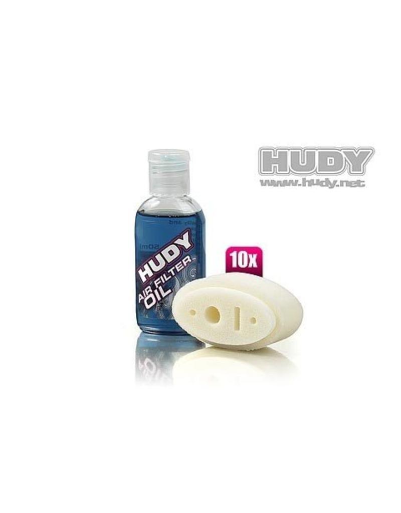 Hudy AIR FILTER FOAM & OIL - ASSOCIATED RC8 (10), H293543