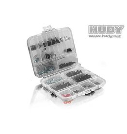 Hudy Hudy Plastic Box, double sided - compact, H298011