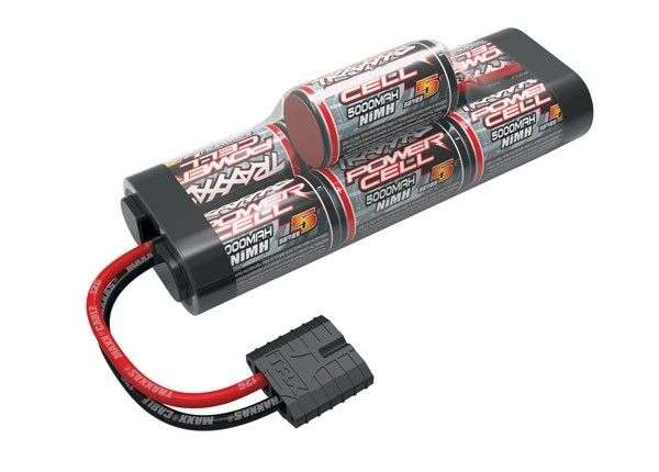 Battery, Series 5 Power Cell, 5000mAh (NiMH, 7-C hump, 8.4V), TRX2961X-1
