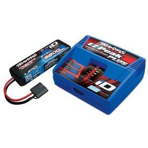 Traxxas 2S (1X 2843X 7.4V LiPO& 1X 2970GX ID charger TRX2992GX