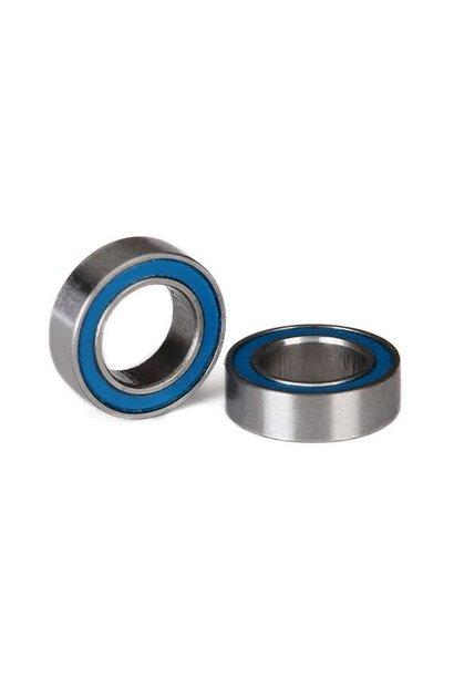 Ball bearings, blue rubber sealed (6x10x3mm) (2), TRX5105