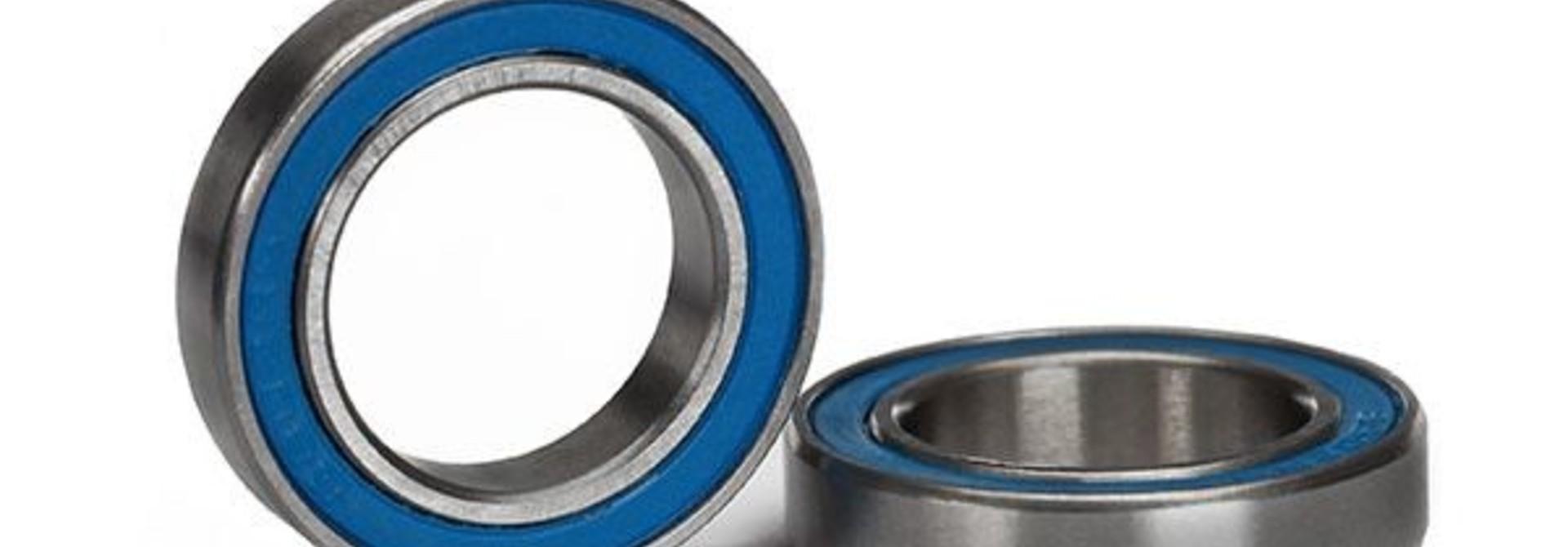 Ball bearing, blue rubber sealed (15x24x5mm) (2), TRX5106