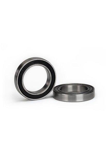 Ball bearing, black rubber sealed (15x24x5mm) (2), TRX5106A