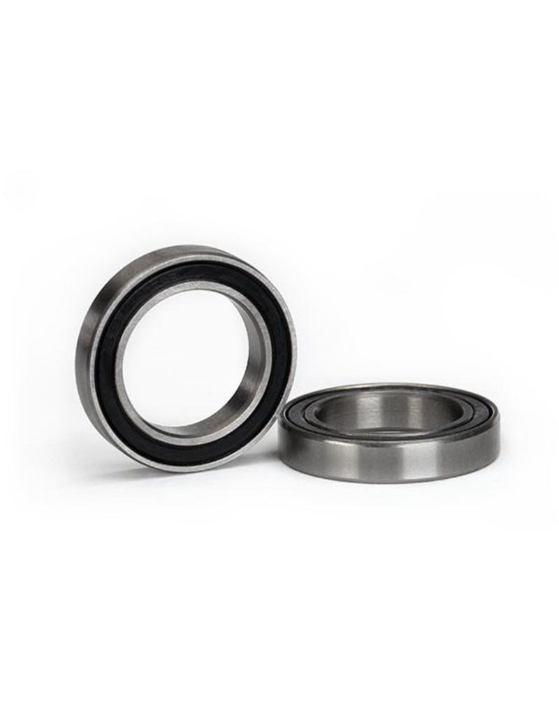 Traxxas Ball bearing, black rubber sealed (17x26x5mm) (2), TRX5107A
