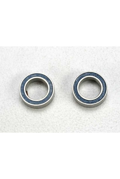 Ball bearings, blue rubber sealed (5x8x2.5mm) (2), TRX5114