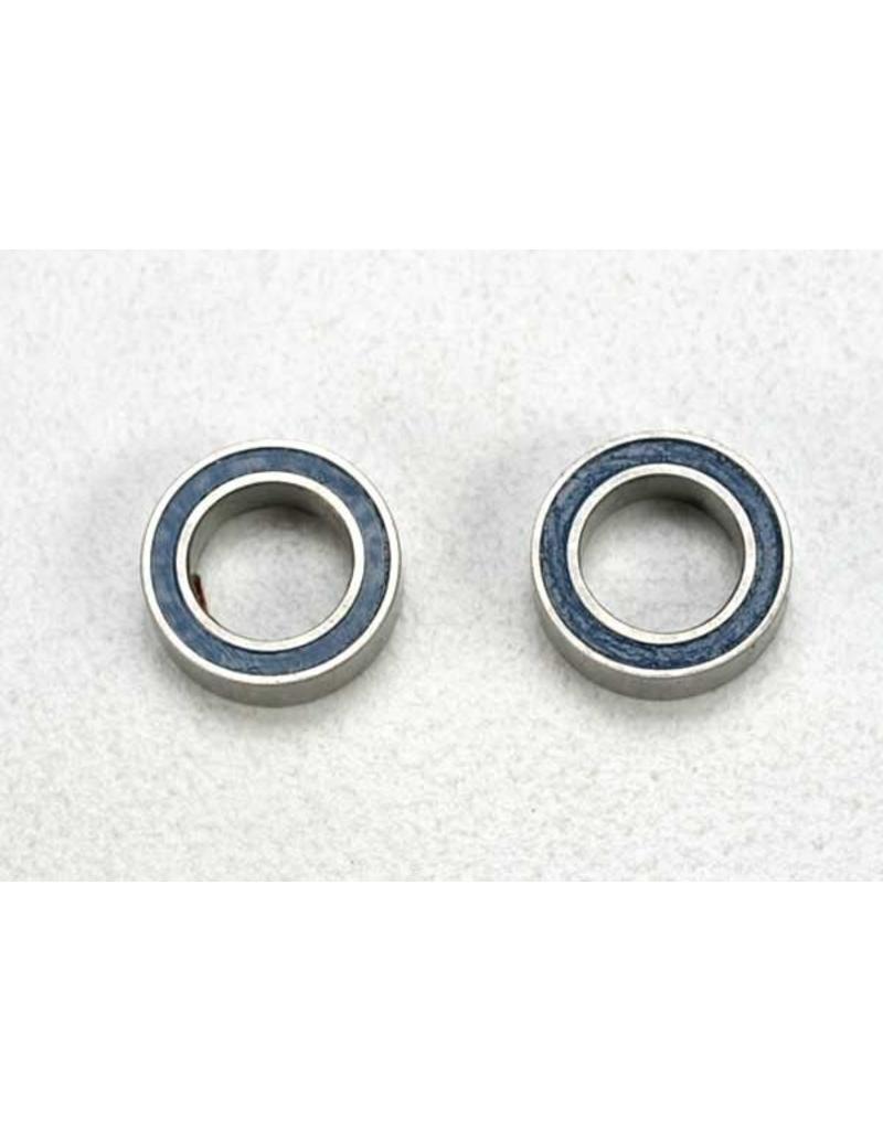 Traxxas Ball bearings, blue rubber sealed (5x8x2.5mm) (2), TRX5114