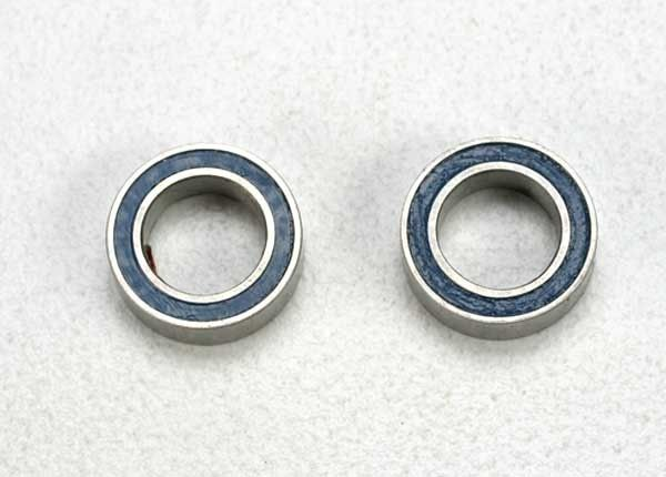 Ball bearings, blue rubber sealed (5x8x2.5mm) (2), TRX5114-1