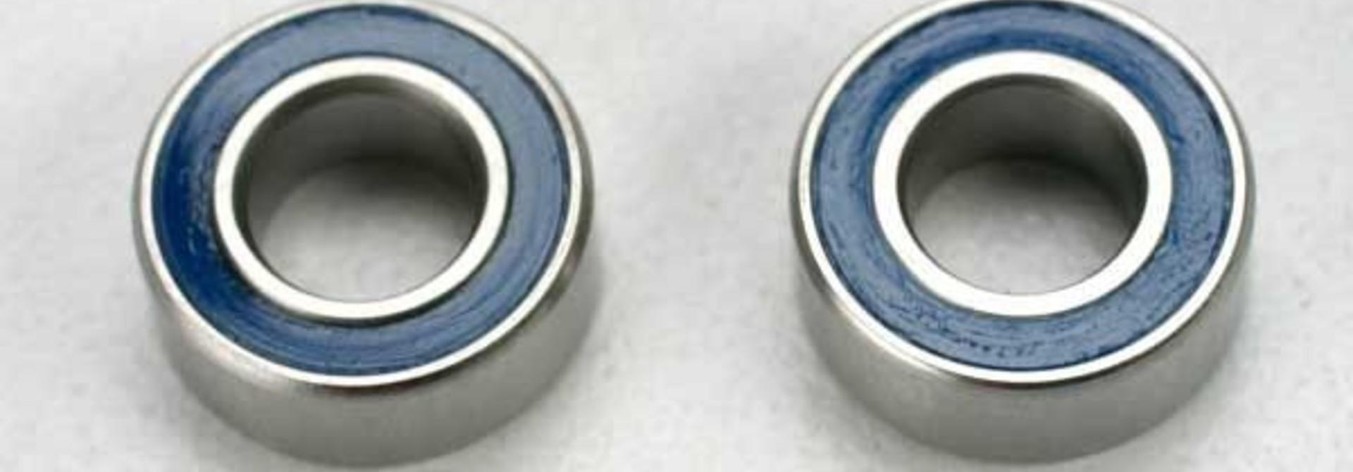 Ball bearings, blue rubber sealed (5x10x4mm) (2), TRX5115